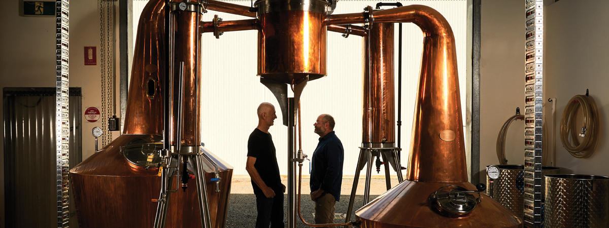 Chris Pratt & Scott Wilson Browne - Kilderkin Distillery